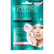 Eveline Wygładzający peeling enzymatyczny + przeciwzmarszczkowa maseczka ujędrniająca, 2X5ml