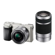 Фотоаппарат Sony Alpha ILCE-6000Y, серебристая