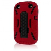 Empire Mpero Impact XL Series Kickstand Case for BlackBerry Curve 9310/9320 - Retail Packaging - Red