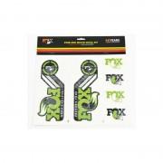 Fox Racing Shox Fork and Shock Decal Kit Media zielony Media
