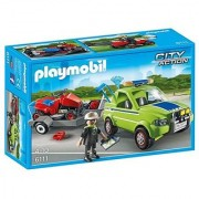 PLAYMOBIL Landscaper with Lawn Mower Playset