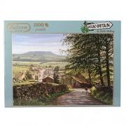 Around Britain - Puzzle de 1000 piezas (2.68x0.66 cm) (Jumbo 11032)