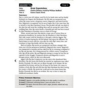 Literacy World Comets Stage 4: Great Expectations Guided Reading Card Framework Edition by William Bedford