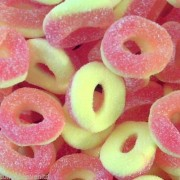 Park Lane Peach Rings Gummy Sweets