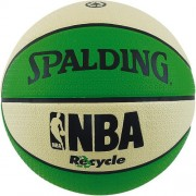 Spalding Basketball NBA RECYCLE - grün/weiß | 7