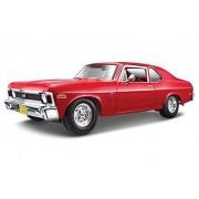 1970 Chevrolet Nova Ss Coupe Red 1/18 By Maisto 31132