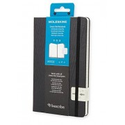 Moleskine Livescribe Notebook Ruled Black Large
