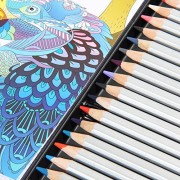 Ohuhu [Tin Case] 48-color Colored Pencils/ Drawing Pencils for Sketch/Coloring Book(Not Included)