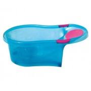 dBb Remond 306246 Baby Bathtub with Inbuilt Baby Chair Translucent Blue 0-6 Months
