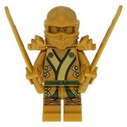 LEGO® Ninjago Golden Ninja Figur Lloyd Gold NEW with Weapons 71239 70505 70503