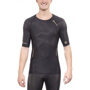Skins A400 Short Sleeve Top Men black 2015 Running