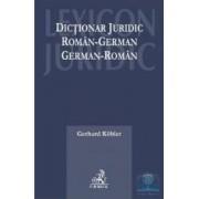 Dictionar juridic roman-german german-roman ed.2015 - Gerhard Kobler