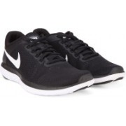 Nike FLEX 2016 RN Running Shoes(White, Black)
