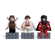 LEGO PRINCE OF PERSIA THE SANDS OF TIME Magnet Set: sand Magnet Set Dastan, of Tamina and Hassanssin Leader / Lego Prince of Persia time [Dasutan prince, princess Tamina, thin leader Hassan (Ormes)] 852 942 (japan import)