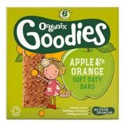 Organix - Batoane din cereale Organix Goodies, Mere, Portocale, 6x30 g, de la 1 an
