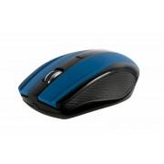 Mouse Serioux Rainbow 400, wireless, USB, 1000/1600 DPI, 4 butoane, sisteme de operare: Windows / Mac OS / Linux, albastru