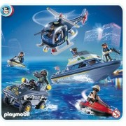 Playmobil 5844 - Forces Spéciales De Police Et Véhicules D'intervention