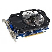 Gigabyte AMD Radeon R7 240 2GB DDR3 ( GV-R724OC-2GI ) Graphics Card OC Version / PCI-E 3.0 / 2GB / DDR3 / 128 bit / Single Link DVI-D/D-Sub/HDMI / 100mm Large Fan