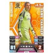 Match Attax Extra 2013/2014 Allan McGregor Game Changer 13/14
