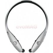 Casti stereo LG HBS-900 Tone Infinim Premium by Harman Kardon, Bluetooth, cablu retractabil pentru casti (Argintiu)
