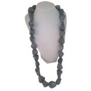 Teethease Rock-ease Teething Rocks Necklace (Gray)