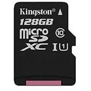 Kingston Digital 128GB microSDXC Class 10 UHS-I 45R Flash Card (SDC10G2/128GBSP)