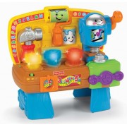 Game / Play Fisher Price Laugh & Learn, Babys Way To Playtime Learning And Fun, Learning Workbench Toy / Child / Kid