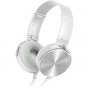Sony MDR-XB450AP Extra Bass Fone de Ouvido com Microfone Branco
