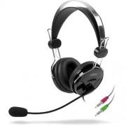 Casti Buff, 3.5 mm jack, Negru
