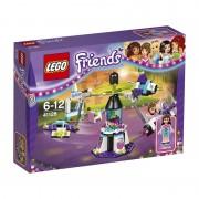 Lego friends. la giostra spaziale del parco divertimenti (41128)