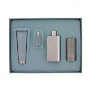 Perry Ellis 18 Eau De Toilette Spray + After Shave Balm + Deodorant Stick + Mini EDT Spray Gift Set Men's Fragrance 463733