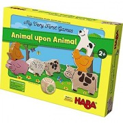 HABA My Very First Games - Animal Upon Animal Wood Stacking Game ()