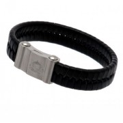 Sunderland AFC Leather Bracelet - Single Plait