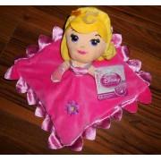 Doudou Poupee Rose Princesse Aurora Disney Princess Cute Comfort Blanket Peluche Bebe Princesses