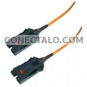 Cable de fibra óptica FDDI a FDDI multimodo duplex 62.5/125 de 3 m