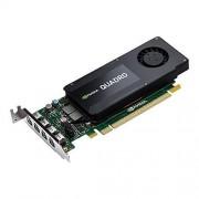 PNY NVIDIA QUADRO K1200 Carte Graphique Professionnelle 4 Go GDDR5 PCI-Express Low Profile 4K 4 x DP (VCQK1200DP-PB)