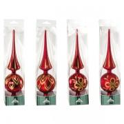 Puntali per albero di natale Impression - rosso - 25508 - 600346 - Impression