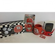 Nascar Dale Earnhardt Jr Collectibles--Coffee Cup Picture Frame Light Switch Plate Cover & Callaway Golf Ball Set