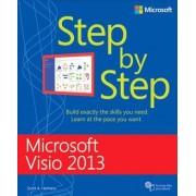 Microsoft Visio 2013 Step by Step by Scott A. Helmers