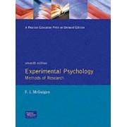 Experimental Psychology by Frank J. McGuigan