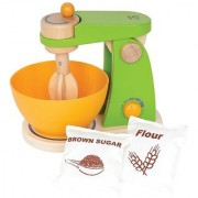 Hape - Playfully Delicious - Mighty Mixer Wooden Play Kitchen Set