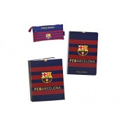Football Club Barcellona - Gift Set, 3 pezzi, 28 x 35 x 6 cm (Safta 311 529 587)