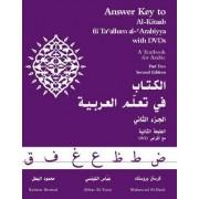 Answer Key to Al-Kitaab fii Tacallum al-cArabiyya: Part 2 by Kristen Brustad
