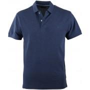 Profuomo Poloshirt Indigo - Blau XXL