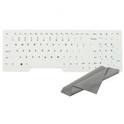 Avigator White Ultra Thin Silicone Keyboard Protector Skin Cover for LENOVO IBM ThinkPad Edge E530 E530C E531 E535 E