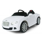 Vroom Rider Bentley GTC Rastar 6V Battery Operated/Remote Controlled Ride-On, White