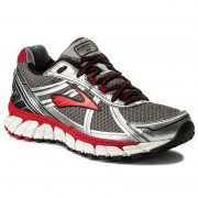 Обувки BROOKS - Defyance 9 110214 1B 090 Charcoal/Silver/High Risk Red