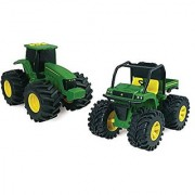 John Deere Monster Treads Lights and Sounds 6 Vehicle Vehicle May Vary