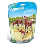 Playmobil - 6643 - Le Zoo - Couple D'Okapis