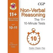 10-Minute Tests for 11+ Non-Verbal Reasoning (Ages 10-11) (for GL & Other Test Providers) by CGP Books